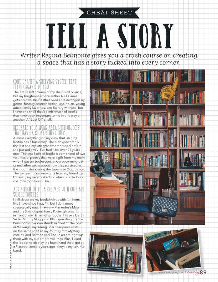 Candy June 2016 — Tell A Story